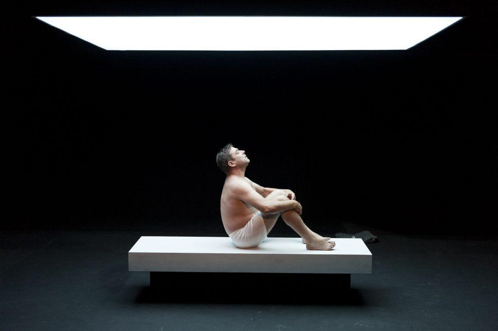 """""""Primer amor"""", de Beckett, versión de Sanchis Sinisterra, CDN"""