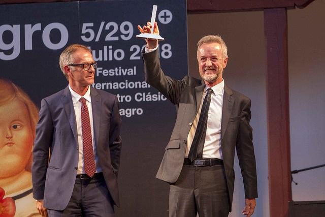 José Guirao y Carlos Hipólito, Festival de Almagro