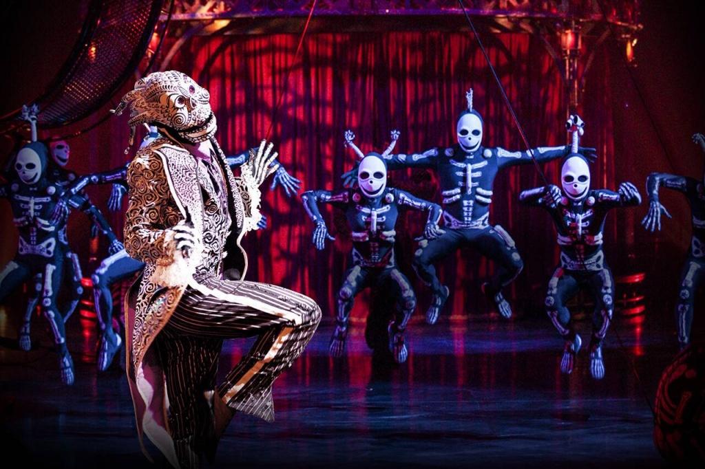 """""""Kooza"""", del Cirque du Soleil"""