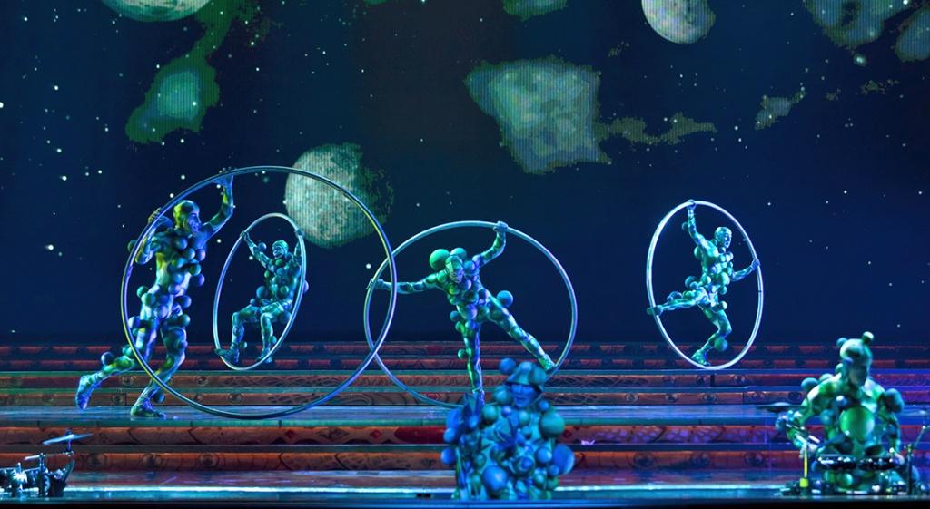 """""""Zarkana"""", del Cirque du Soleil"""
