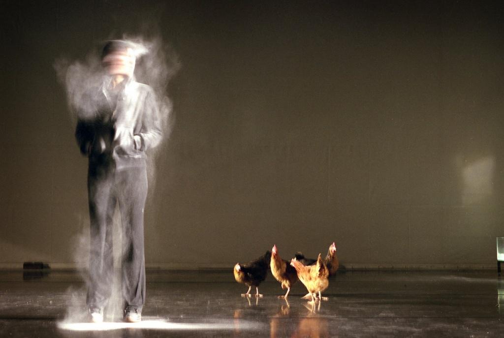 """""""Aproximación a la idea de desconfianza"""", de Rodrigo García, 2008"""