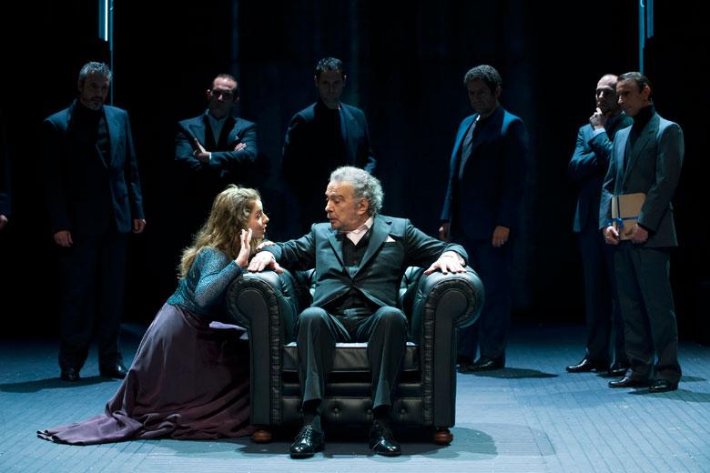 """rey Lear"", de Shakespeare, dirigida por Gerardo Vera, 2008"