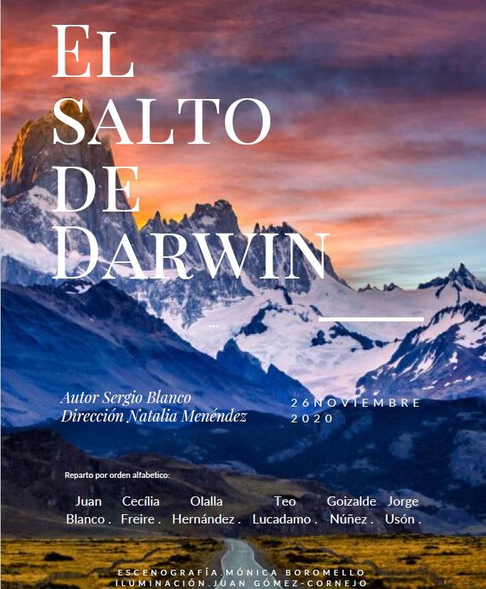 """""""El salto de Darwin"""", de Sergio Blanco"""